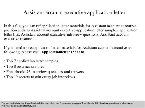 Fashion Account Executive Cover Letter by Sle Cover Letter For Account Executive Financial Analysis Employee Referral Cover Letter