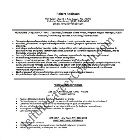 writer resume template 14 free word excel pdf format free premium templates