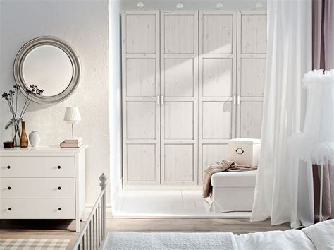ikea hemnes schlafzimmer pax white wardrobe with hemnes white stained doors and
