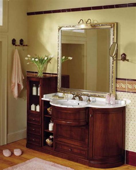 Bathroom Cabinet Designs - classic bathroom deshouse