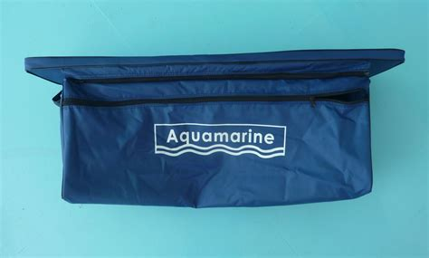 rib boat bench seat underseat storage bag for inflatable boat bench seat
