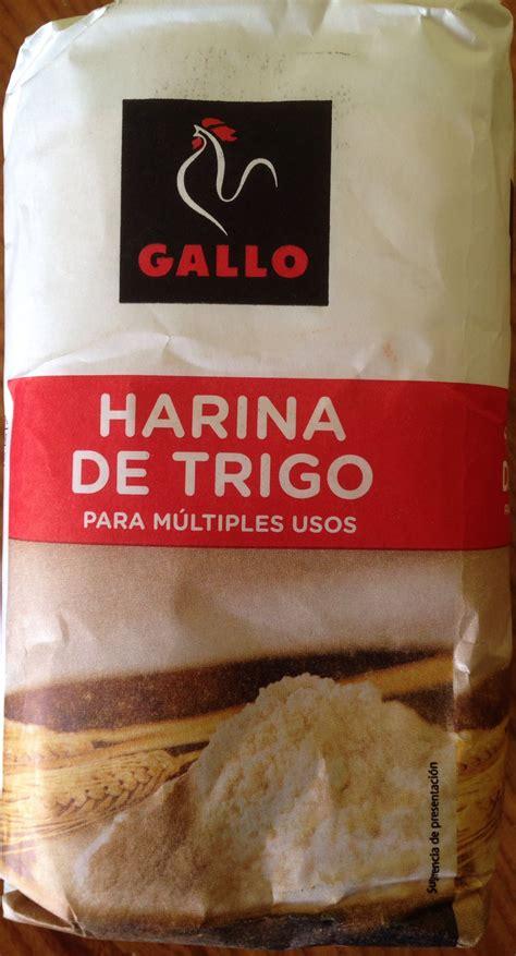 alimentos sin harina de trigo harina de trigo gallo 1 kg