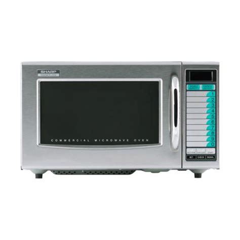 Microwave Oven Sharp R 249 In sharp r 21lvf 1000 watt commercial microwave oven etundra