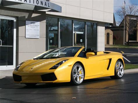 2007 Lamborghini Gallardo Spyder 2007 Lamborghini Gallardo Spyder E Gear