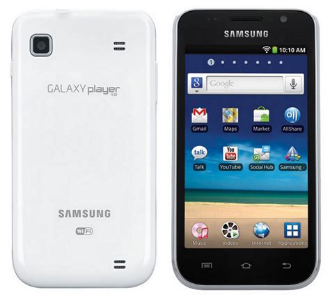 Samsung Player Techpump Usa Samsung Galaxy Player 4 And 5 Now Available In The Us