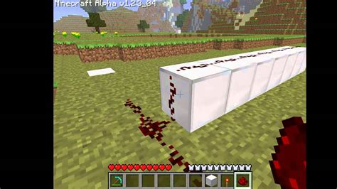Minecraft How To Craft A Redstone L by Minecraft Redstone Torches Guide