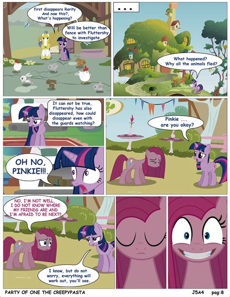 english party of one mlp creepypasta mlp party of one pag 8 creepypata english by j5a4 on