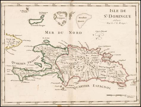 isle st domingue barry lawrence ruderman antique maps