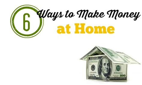 6 ways to make money from home southern savers