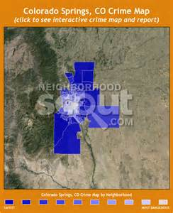 crime map colorado springs colorado springs crime rates and statistics