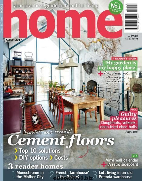 home decor magazines in south africa home south africa august 2017 free pdf magazine download