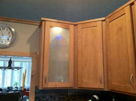 angled end cabinet houzz angled wall cabinets in each corner added definition and