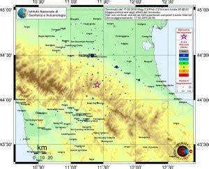 sensazione di tremore interno terremoto firenzuola ecco fin dove 232 stata avvertita la