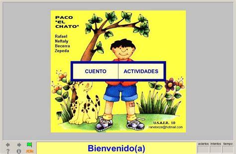libros4 paco el chato paco quot el chato quot recurso educativo 38612 tiching