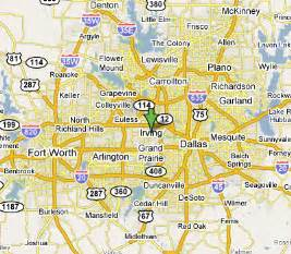 map irving irving map