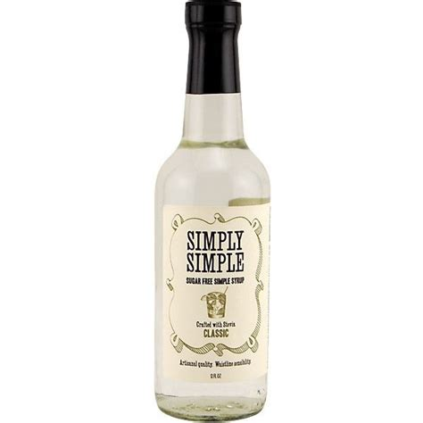 simply simple sugar free simple syrup made with stevia