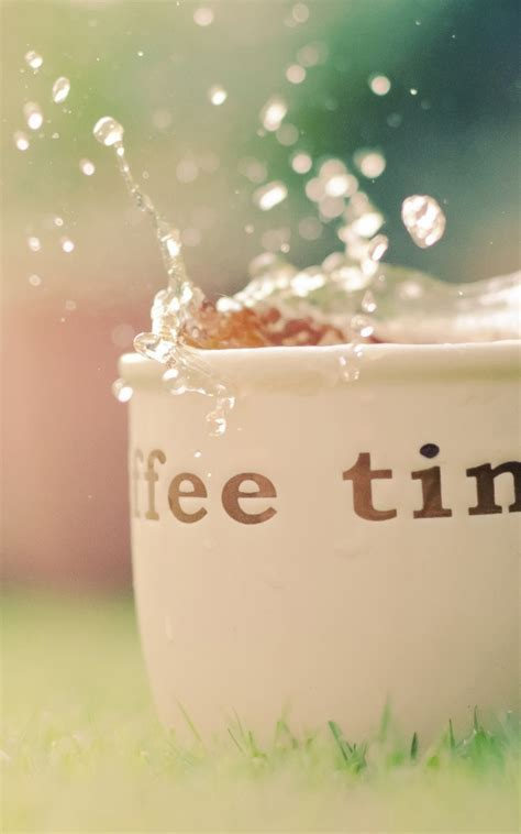 Coffee Time Android Wallpaper free download