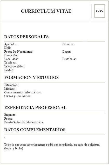 Plantilla De Curriculum Vitae El Salvador como hacer un curr 237 culum vitae curriculum and crochet