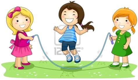 Imagenes Niños Saltando La Cuerda   dibujos de ni 241 os saltando la cuerda imagui