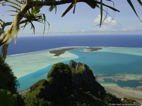 fonds decran de tahiti  de ses iles enzolaurentcom