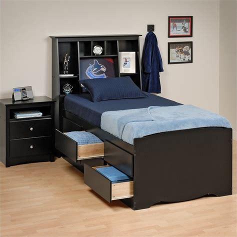 tall bed tall twin platform storage bed bbt 4106 k