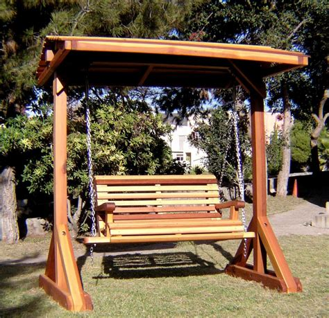 wooden bench swing bench swing sets built to last decades forever redwood
