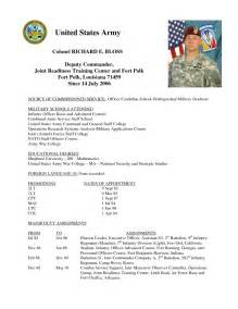 Army Resume Example Army Infantry Resume Sample Resumes Design