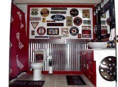 bathroom pinterest boy vintage auto and camo small designs with shower unique ideas