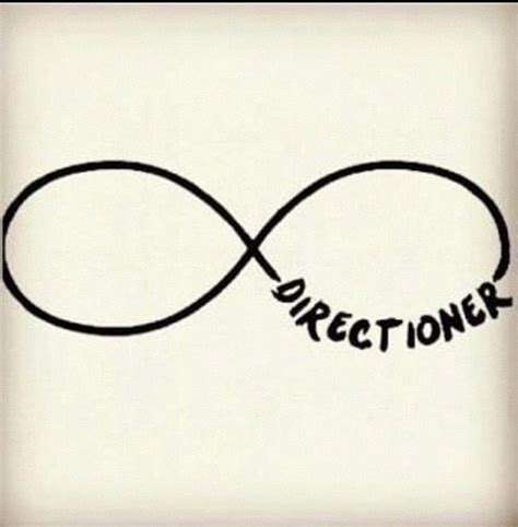 tattoo infinity one direction pin signe infini on pinterest