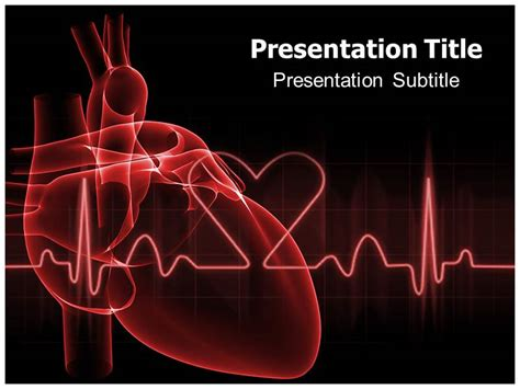 Blog Archives Graphicsfilecloud Cardiac Powerpoint Template