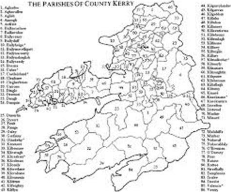 County Kerry Ireland Birth Records County Kerry Civil Parishes Kerry Townlands My Kerry