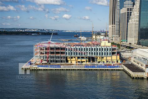 piers news fa 231 ade installation continues at south seaport s