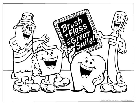 dental health coloring pages preschool dental website marketing marketing for dentists