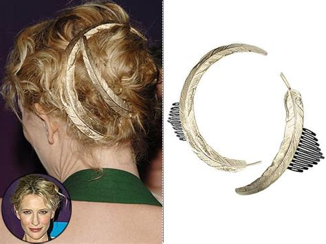 Get The Look Cate Blanchetts Feathered Tresses 2 get the look cate blanchett s feathered tresses style