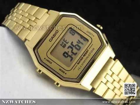 Casio Standard La 680wga 9 casio retro gold tone digital watches la680wga 9df