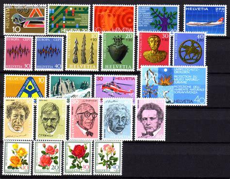 Schweiz Briefmarken Kaufen Briefmarken Schweiz Jahrgang 1972 Komplett Michel Nr 964 987 Postfrisch G 252 Nstig Kaufen Im