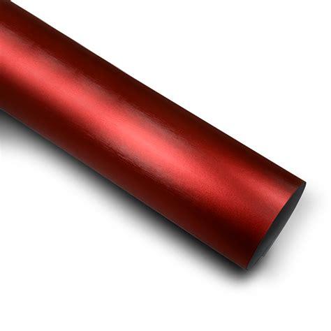 matt rot folie rot matt chrom metallic geb 252 rstet auto folie 50cm x 152cm