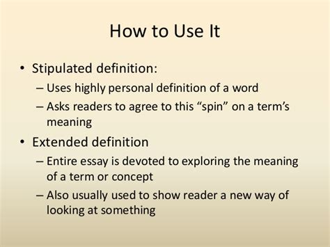 Definition Of Essay by Essay Definition The Definition Essay Ayucar
