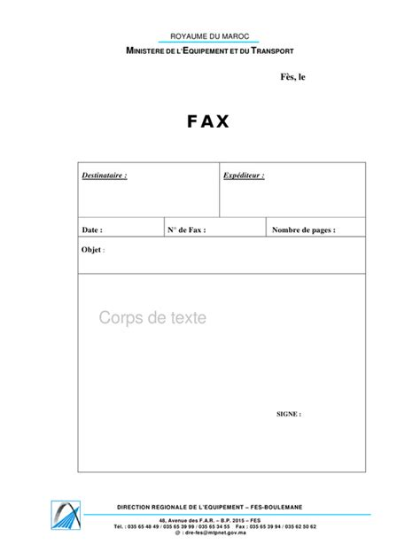 Modele Fax are you suprised modele de fax pdf fichier pdf