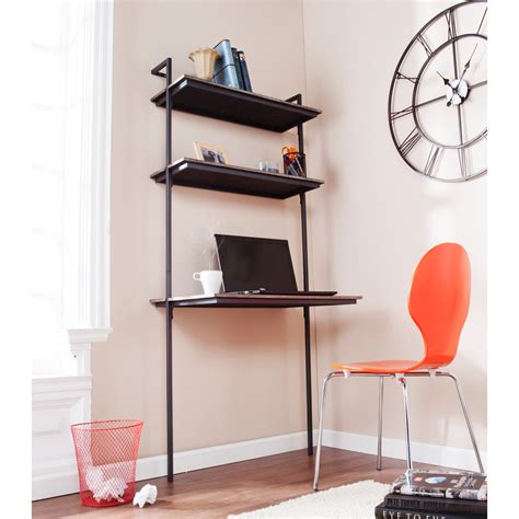 desk shelves for why wall mounted desks are for small spaces