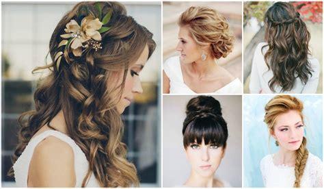 peinados recogidos para damas de honor con pelo largo 24 peinados ideales para las damas de honor nupcias magazine