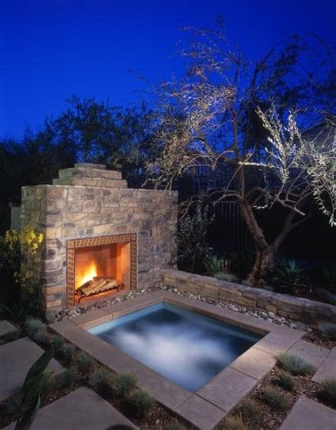 outdoor tub 65 awesome garden tub designs digsdigs