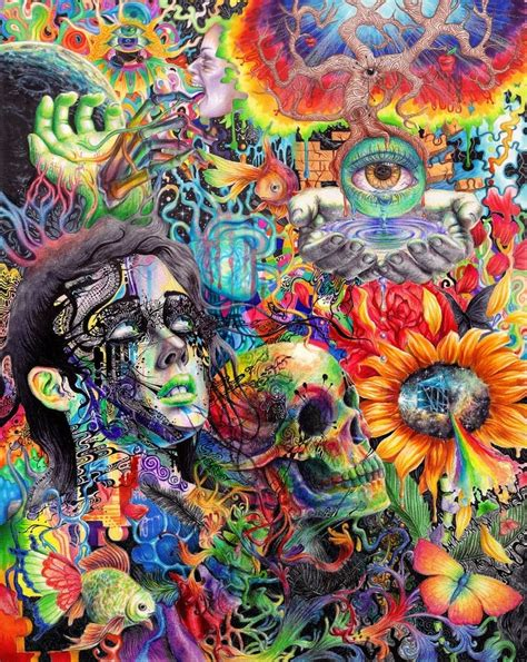 200 latest trippy wallpapers amp psychedelic
