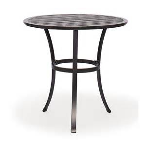Aluminium Bistro Table San Cast Aluminum Bistro Table 30 Inch
