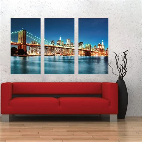 new york wall mural new york city skyline mural decal view wall decal murals primedecals