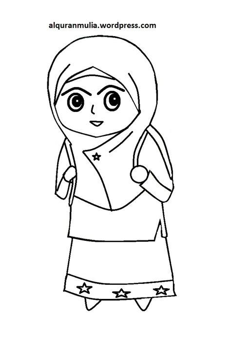 mewarnai kartun terbaru image koleksi gambar gambar animasi kartun anak islami terbaru