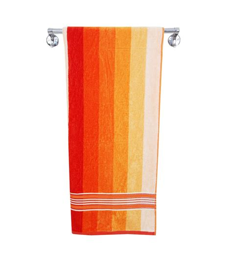 orange towels bathroom aqua pearl handy orange cotton bath towel orange by aqua