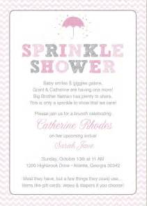 pink baby sprinkle shower invitation pink by