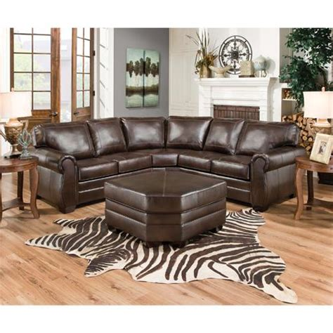 Manhattan Simmons Sectional by Simmons Bm562 Manhattan Right Arm Facing Sectional Sofa With Wedge Espresso Decorative Inside