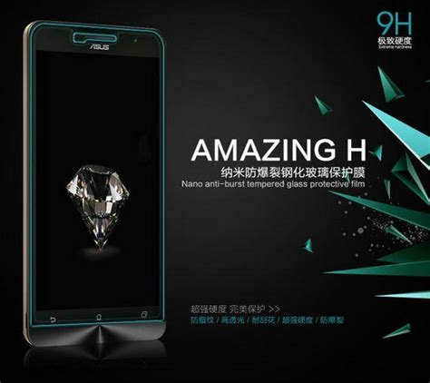 Sale Tempered Glass For Asus Zenfone Go 4 5inch 2015 asus zenfone c 4 4 5 5 6 nillkin tempered glass sc end 5
